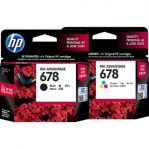 Tinta HP 678 Color and Black